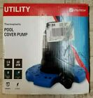 Utilitech Plug In Pool Cover Pump 1 4 HP 40 GPM Thermoplastic LS37 35