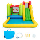 Baby Play Inflatable Bounce House Water Slide Climb Bouncer Pool 480W Blower
