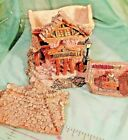 Boyds Town Bearly Built Village, Public Libeary, w/ 3 Figures