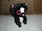 269-Ty Beanie Boos FLORA the Skunk Pink glitter eyes 6
