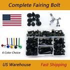 Complete Fairing Bolts Kit Bodywork Screws Fasteners For BMW R1200R 06-2010
