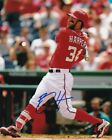 BRYCE HARPER SIGNED AUTOGRAPH 8X10 PHOTO WASHINGTON NATIONALS PHILLIES
