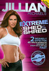JILLIAN MICHAELS EXTREME SHED AND SHRED on DVD of WEIGHT LOSS Yoga WORKOUT VIDEO