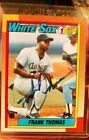 Frank Thomas Rookie Cards and Autograph Memorabilia Guide 27