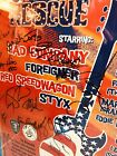 Foreigner, Bad Company, Styx, REO Speedwagon ROCK TO THE RESCUE 2002 poster lot