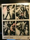 MOTLEY CRUE autographed SHOUT @ the DEVIL black/ white all 4 vintage 8 x 10