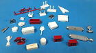 vtg 1960s AMT MPC Revell diorama extras 1/25 Model tools trophy parts lot 6