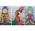 Charlie Brown Christmas Nativity Kings Wooden Yard Art 3 Piece Expansion Set