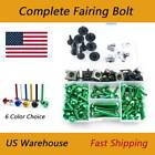 CNC Fairing Bolt Kit Bodywork Screw Nuts Mounting For Kawasaki ZX-11C 1990-1993