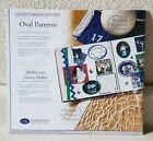 NIP CREATIVE MEMORIES 4 OVAL Cutting PATTERNS  Sizing TEMPLATES 2003