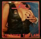 Keel Lay Down The Law 1984 LP SEALED Shrapnel Records SH-1014