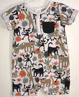 Gymboree Baby Boys 12 18M One Piece Outfit Short Sleeves Shorts Jungle Monkeys