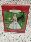 2001 Hallmark Celebration Barbie Keepsake Ornament Holiday Doll #2 in series