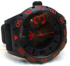 Adidas Men's Chrono Newburgh Red Silicone Band Black Dial With Date ADH2793