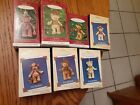 1999-2005 Gift Bearers Hallmark Retired Series Ornaments,lot of 7 ornaments,Used