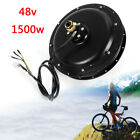 Brushless Electric Bike Hub Motor 48V 1500W Rear Wheel Electric Bicycle 500rpm