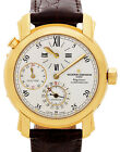 Vacheron Constantin Malte Dual Time Regulator 18k Mens Watch  Box/Papers 42005