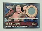 Brock Lesnar Cards, Rookie Cards and Autographed Memorabilia Guide 14