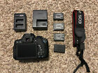 EXCELLENT Canon EOS Rebel T6i EOS 750D 242MP Digital SLR Camera Body Only