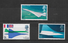 1969 GB First Flight of Concorde Complete Set MNH