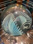 Marbles: EARLY Robert Eickholt Hand Blown paperweight. Signed And Dated 1988