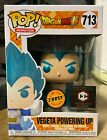 FUNKO POP VEGETA POWERING UP #713 METALLIC CHASE DRAGON BALL Z CHALICE EXCLUSIVE