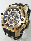 Invicta Bolt 26751 Men's 52mm Chronograph Gold-Tone S/Steel Watch NEW+SHIPS FREE