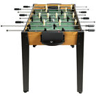 48 Competition Sized Wooden Soccer Foosball Table Adults  Kids Home Outdoor