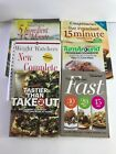 WEIGHT WATCHERS Lot of 6 Cook Books Points Plus Flex and Core Plans Recipes