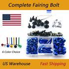 CNC Fairing Bolt Kit Bodywork Screw Nuts Mounting Fixing Racing For BMW