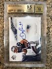 2009 Julian Edelman SP Authentic and Playoff Contenders RC AUTO Patriots BGS 9.5