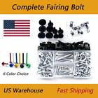 Alloy Complete Fairing Bolt Kit Aluminum Screws Nuts For Aprilia TUONO R