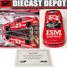 AUTOGRAPHED BILL ELLIOTT 2018 ISM CONNECT 1 24 ACTION COLLECTOR NASCAR DIECAST