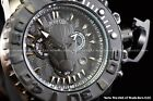 Invicta 70mm Marvel Sea Hunter T'Challa King of WAKANDA Black Panther LE Watch