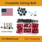 Complete Fairing Bolts Kit Bodywork Screws Fasteners For BMW HP2 2005-2010