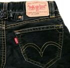 Vintage Levis Type 1 Low Slouch Flare Cinch Back Corduroy Jeans Size 5 Womens