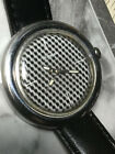"MEN'S /WOMEN'S VINTAGE DUGENA UNIQUE WATCH WITH COOL ""HOUNDSTOOTH DIAL"" !!"