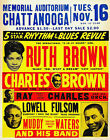 CHATTANOOGA CONCERT POSTER 5 STAR RHYTHM  BLUES REVUE RP 11X14 PHOTO LG219