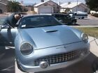 2004 Ford Thunderbird 2dr, convertible for $12000 dollars