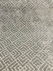 Tambal Lattice Shale Gray Waverly Chenille Home Upholstery Fabric By the Yard