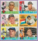 1960 Topps Partial Complete Set Lot 237 572 VG VG EX EX