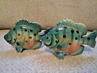 Vintage Sun Fish salt and pepper shakers