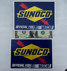 SUNOCO RACING GAS 2 Decals (Stickers) Official Fuel of NASCAR,Toolbox, Pit Case