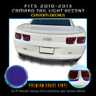 For 2010-2013 Camaro Tail Lights Trim Accent Overlay Vinyl Decals - Flat Matte