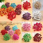 40pcs Mini Artificial Foam Frosted Fruit Holly Berry Flower Home Decor Gift