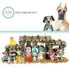 SAVANNASHOPS Dog Nativity Great Dane Gifts Nativity Sets Dog Lover Gifts