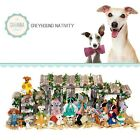 SAVANNASHOPS Dog Nativity Greyhound Gifts Nativity Sets Dog Lover Gifts