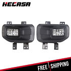 Replacement Driving Bumper Fog Lights Pair For 2015 2016 2017 Ford F150 Pickup