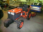 KUBOTA COMPACT B1610 TRACTOR FOUR WHEEL DRIVE DIESEL ONLY 325 HOURS WITH MANY