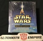 TOPPS Star Wars Attack Of The Clones Movie Cards Box Kenner Comic Lucas Hobby Dc